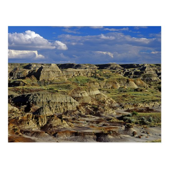 Badlands formations at Dinosaur Provincial Park 4 Postcard
