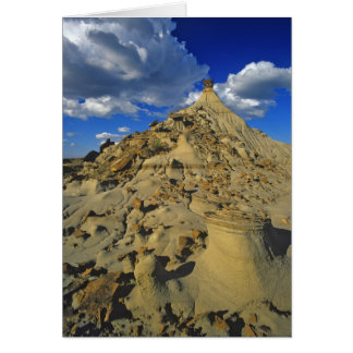 Badlands formations at Dinosaur Provincial Park 5 Card