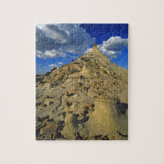 Badlands formations at Dinosaur Provincial Park 5 Jigsaw Puzzle