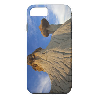 Badlands formations at Makoshika State Park in iPhone 8/7 Case