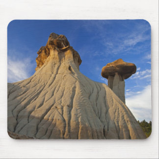 Badlands formations at Makoshika State Park in Mouse Pad