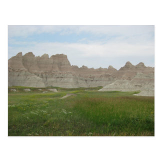Badlands in South Dakota Postcard