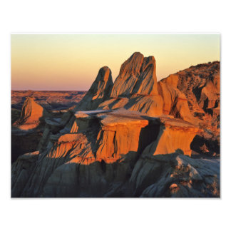 Badlands in Theodore Roosevelt National Park Photo Print