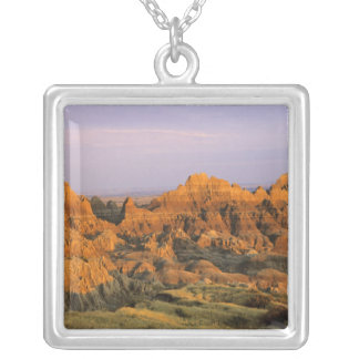 Badlands National Park in South Dakota Silver Plated Necklace