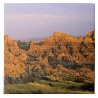 Badlands National Park in South Dakota Tile