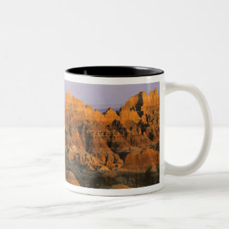 Badlands National Park in South Dakota Two-Tone Coffee Mug