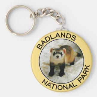 Badlands National Park Key Ring