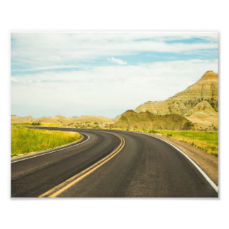 Badlands National Park Photography Print Photograph