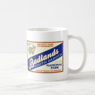 Badlands National Park (Rabbit) Coffee Mug