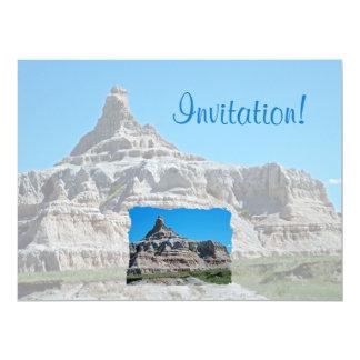 Badlands National Park, South Dakota Personalized Invite