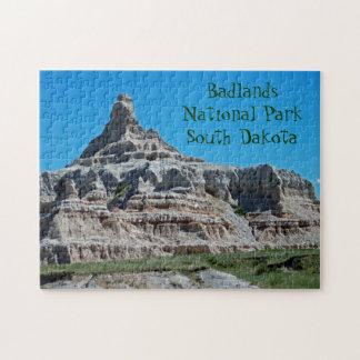 Badlands National Park, South Dakota Jigsaw Puzzle