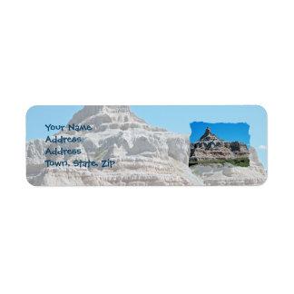 Badlands National Park, South Dakota Return Address Label