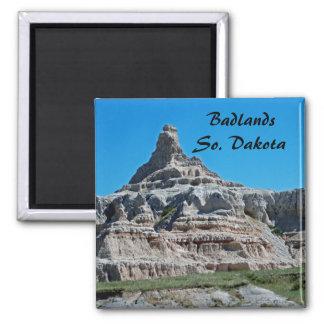 Badlands National Park, South Dakota Square Magnet