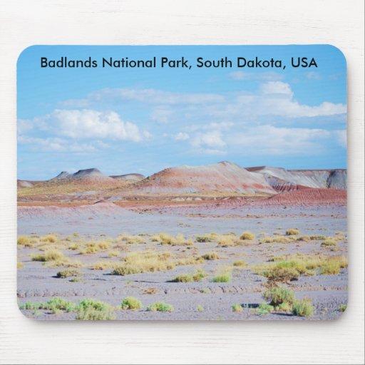 Badlands National Park, South Dakota, USA mousepad