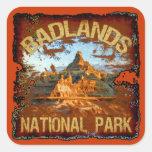 Badlands National Park Stickers