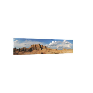 Badlands Photograph Canvas Print