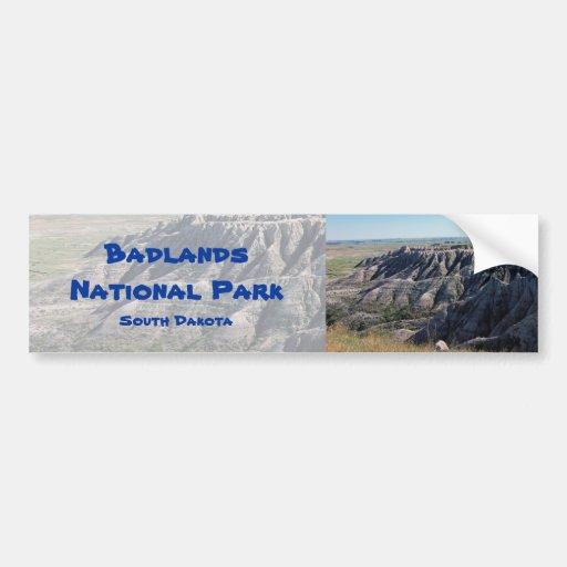 Badlands, South Dakota Bumper Stickers
