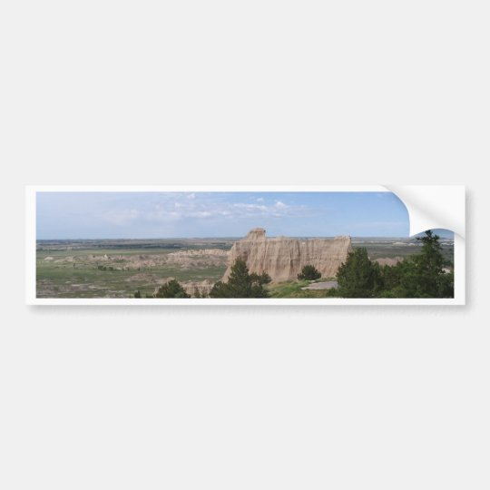 Badlands South Dakota Bumper Sticker