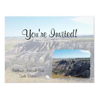 Badlands, South Dakota Invite