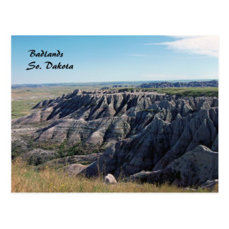 Badlands, South Dakota Postcard