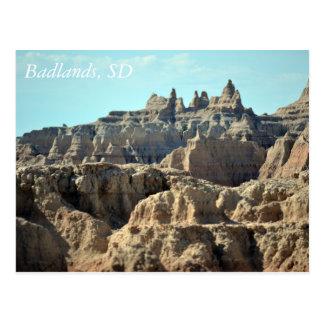 Badlands, South Dakota Postcard