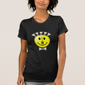 Badminton Bowtie Smiley T-Shirt