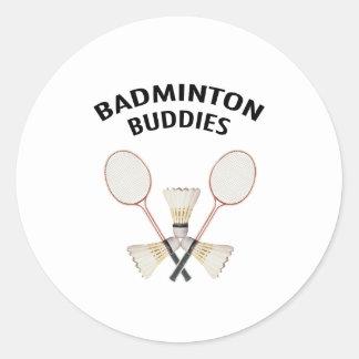 Badminton Buddies Stickers