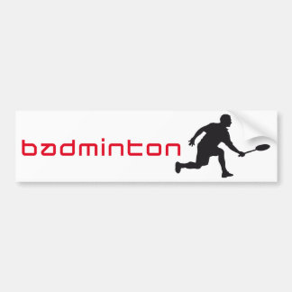 badminton autosticker