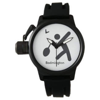 BADMINTON | cool sport icon Watch