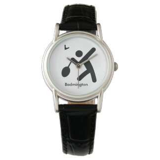 BADMINTON | cool sport icon Watches