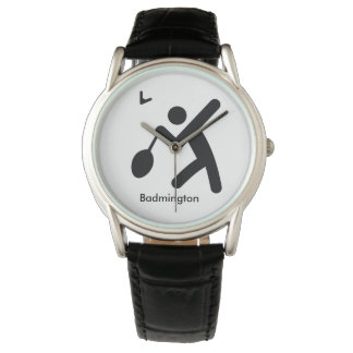 BADMINTON | cool sport icon Wrist Watches