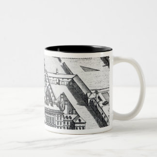 Badminton House on the County of Gloucester Two-Tone Coffee Mug