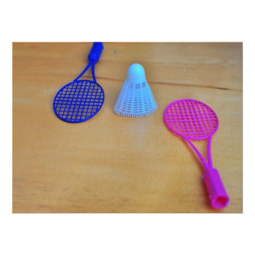 Badminton Custom Invites