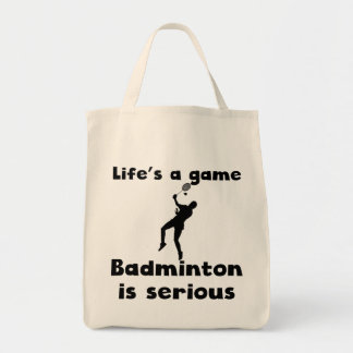 Badminton Is Serious Bags