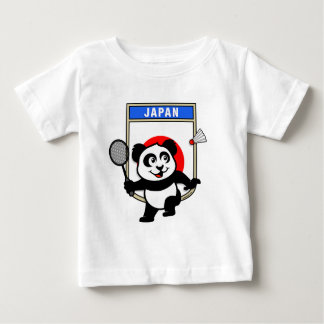 Badminton Japan Panda Baby T-Shirt