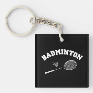badminton key ring