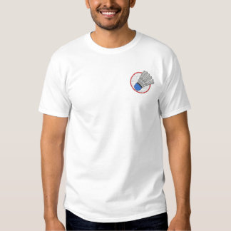 Badminton Logo Embroidered T-Shirt