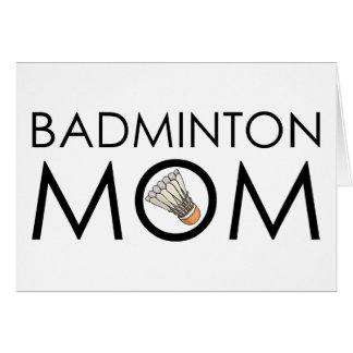Badminton Mom Card