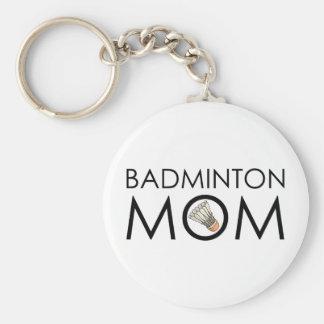 Badminton Mom Keychains