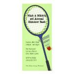 Badminton Party / Picnic Custom Invitation
