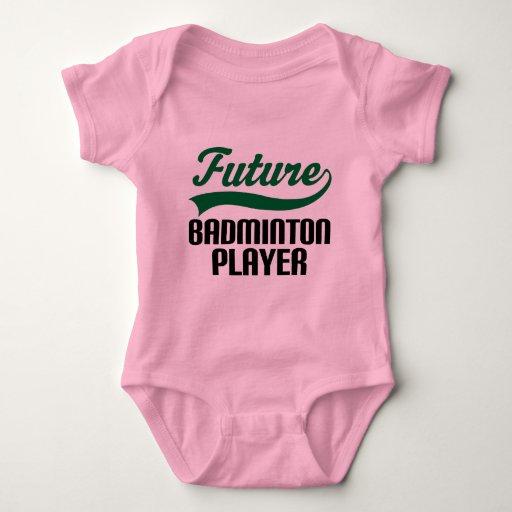 Badminton Player (Future) Baby Bodysuit