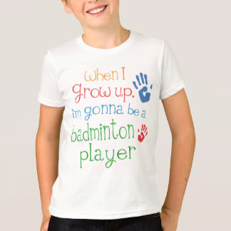 Badminton Player (Future) Infant Baby T-Shirt