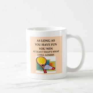 BADMINTON.png Coffee Mug