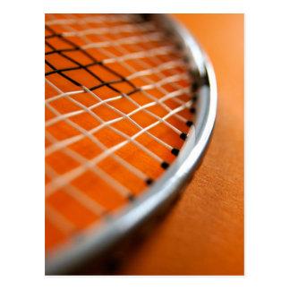 Badminton Racket Postcard