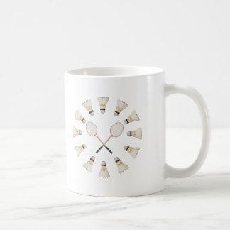 Badminton Rackets Coffee Mug