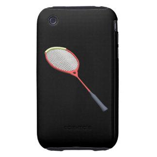 Badminton Racquet iPhone 3 Tough Cases