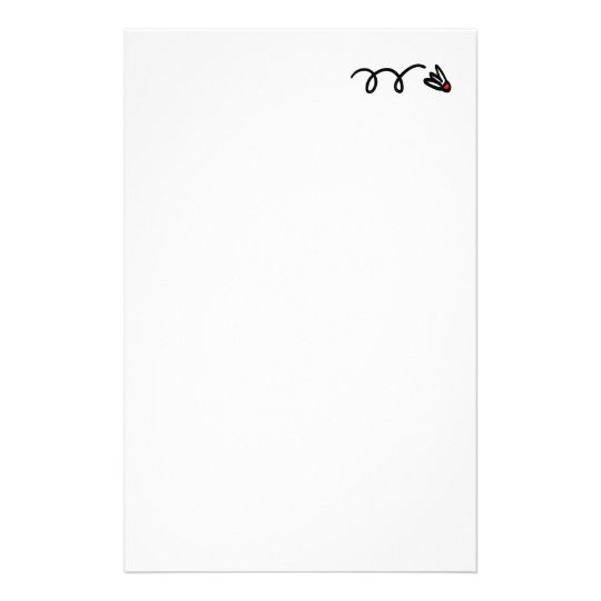 Badminton stationery paper for writing letters etc