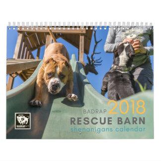 BADRAP 2018 Rescue Barn Shenanigans! Calendars