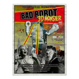 BADROBOT 3D B-Movie Poster