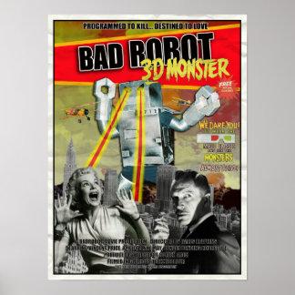 BADROBOT 3D B-Movie Poster